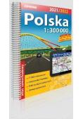 Atlas samochodowy Polska 1:300 000 w.2021/2022