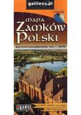 Mapa zamków Polski