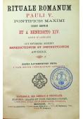 Rituale Romanum / Appendix ad Rituale Romanum 1872 r.