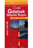 Plan Miasta EuroPilot. Gdańsk Gdynia Sopot laminat