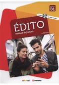 Edito B1 Methode de francais + CD