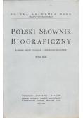 Polski słownik biograficzny tom XIII reprint 1968