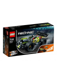 Lego TECHNIC 42072 Żółta wyścigówka