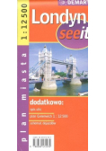 See it Londyn 1:12 500 plan miasta DEMART