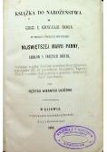 Książka do nabożeństwa ku czci i chwale Boga 1859 r