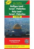 Mapa samochodowa - Izrael, Palestyna 1:150 000