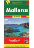 Mapa samochodowa - Majorka 1:50 000