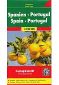 Mapa samochodowa - Hiszpania,Portugalia 1:700 000