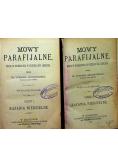 Mowy parafijalne Część I i II 1883 r.