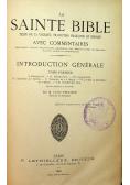 La Sainte bible tom I 1886r