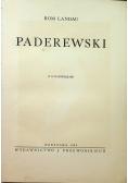 Paderewski 1935 r