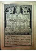 Missale Romanum 1932 r.