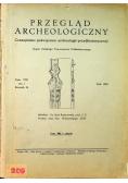 Przegląd archeologiczny Tom 8 1949 r.