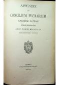 Appendix ad concilium plenarium 1810 r.