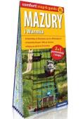 Comfort!map&guide XL Mazury i Warmia 2w1