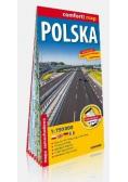Comfort! map Polska 1:750 000