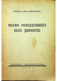 Prawo powszechności Dług jednostki 1933r