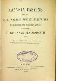 Kazania pasyjne 1902 r.