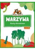Bubu Baba. Karty obrazkowe. Warzywa