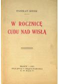 W rocznicę cudu nad Wisłą 1930 r
