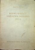 Kodeks karzący Królestwa Polskiego