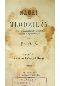 Nauki dla młodzieży część II i III 1881 r.