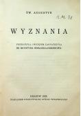 Św. Augustyn Wyznania 1929 r.