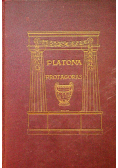 Platona Protagoras 1923 r