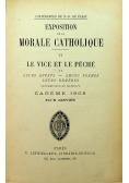 Exposition de la Morale catholique 1908 r