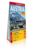 Comfort! map Austria 1:500 000 w.2019