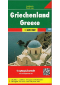 Mapa samochodowa - Grecja 1:500 000