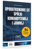 Opodatkowanie CIT spółki komandytowej i jawnej
