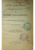 Geschichte der Deutschen Nationalliteratur 1873r