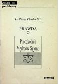 Prawda o prorokach Mędrców Syjonu 1938 r.