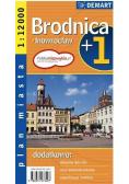 Plan miasta - Brodnica/Inowrocław 1:12 000 DEMART