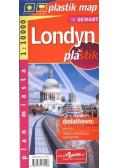 Londyn - laminowany plan miasta 1:10 000