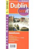 Dublin see it - plan miasta 1:18 000