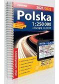 Atlas samochodowy Polska 1:250 000 w.2021/2022
