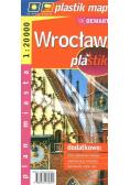 Wrocław - laminowany plan miasta 1:20 000