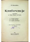Konferencje 1914 r.