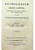 Euchologium Graeco Latinum 1837 r.