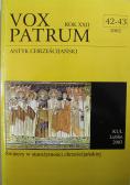 Vox Patrum Rok XXII Nr 42 - 43