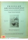Przegląd archeologiczny Tom 7 1947 r.