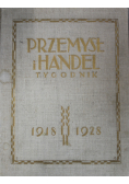 Przemysł i handel tygodnik 1918 - 1928