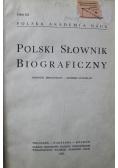 Polski słownik biograficzny Tom X 4 zeszyty
