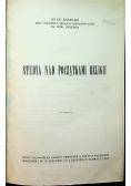 Studya nad początkami religii 1916 r.