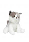 Kot biało-szary 24cm MOLLI TOYS
