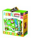 Montessori Zwierzęta Lotto HEADU