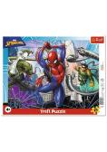 Puzzle ramkowe 25 Odważny Spiderman TREFL
