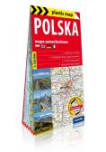 Plastic map Polska 1:700 000 mapa samochodowa